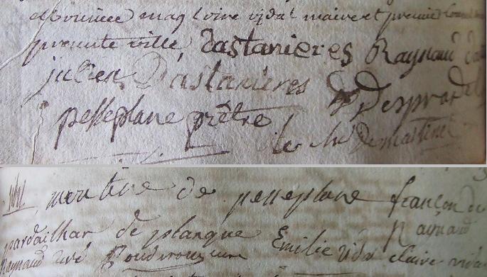 Mariage de jean simon gabriel d 39 astani res avec marie - Au jardin de marie st pons de thomieres ...
